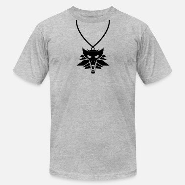 Witcher 3 Witcher Medalion - Men's  Jersey T-Shirt