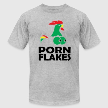 Porn Flakes - Men's Fine Jersey T-Shirt