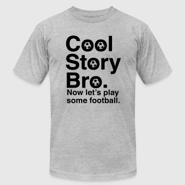 Cool Soccer Story - Men's Fine Jersey T-Shirt