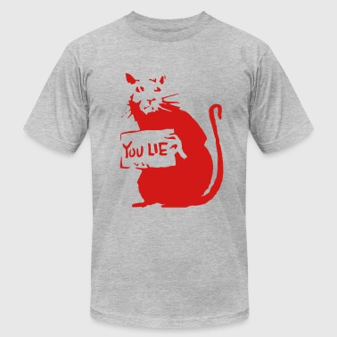 Rat - You Lie - Men's Fine Jersey T-Shirt