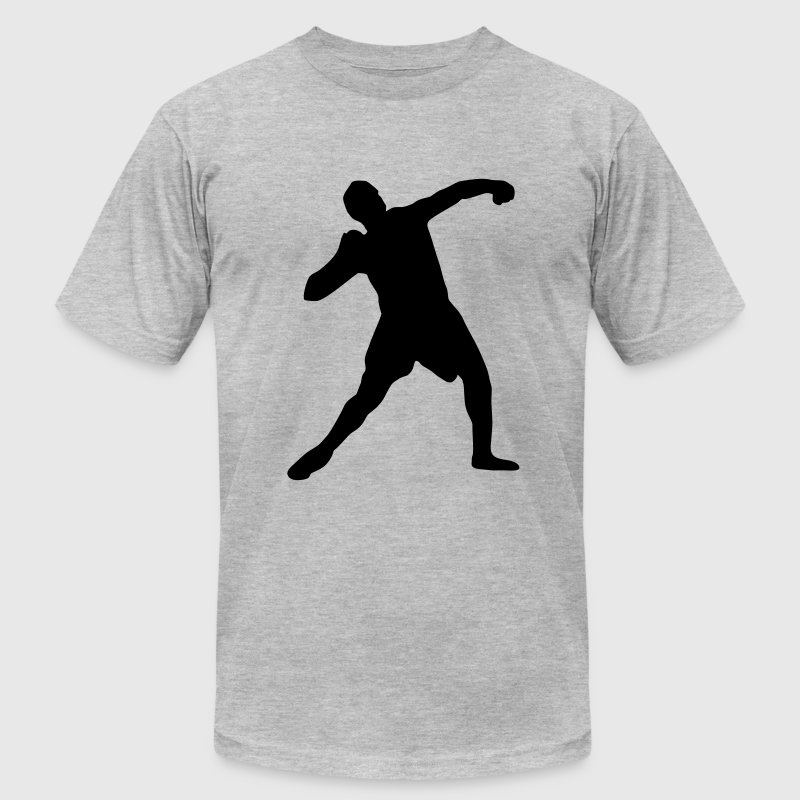 Shot put, track and field - Men's Fine Jersey T-Shirt