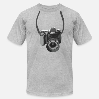 Photographer Camera Around The Neck - T-shirt pour hommes