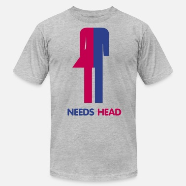 Shemale Ladyboy Needs Head - Men's  Jersey T-Shirt