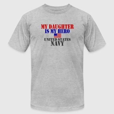 USAts DAUGHTER HERO US NAVY heroes - Men's Fine Jersey T-Shirt