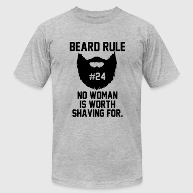 Beard Rule - Men's Fine Jersey T-Shirt