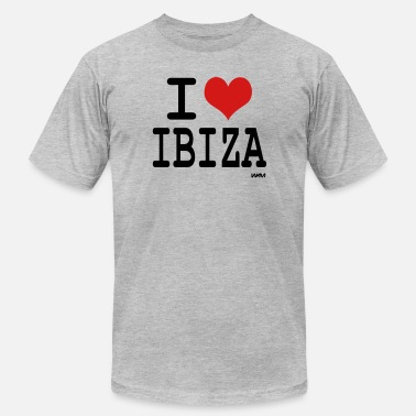 I Love Ibiza i love ibiza by wam - Men's  Jersey T-Shirt