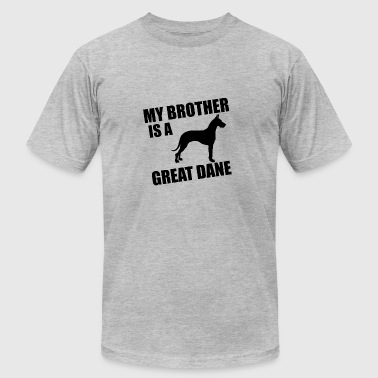 My Brother Is A Great Dane - Men's Fine Jersey T-Shirt