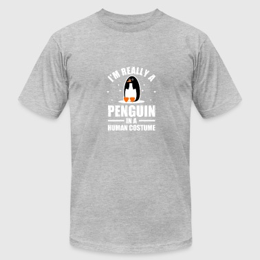 IM REALLY A PENGUIN: ICE POLAR ANIMALS ARTIC - Men's Fine Jersey T-Shirt