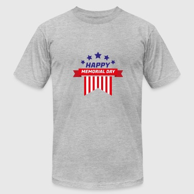 Memorial Church ~ Memorial Day: Happy Memorial Day - Men's Fine Jersey T-Shirt