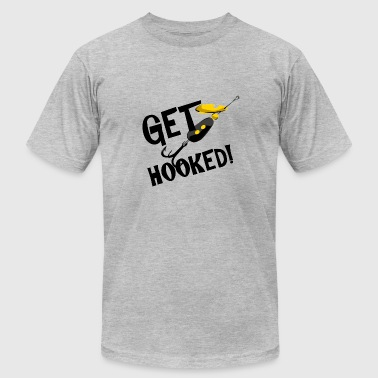Brothers Of The Hook Get Hooked! T-shirts and Gifts - Men's Fine Jersey T-Shirt