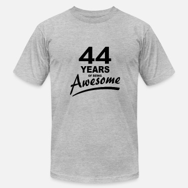 44 Years 44 Years of being AWESOME - Men's Fine Jersey T-Shirt