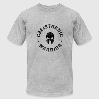 Sparta Muscle Calisthenic Warrior - Men's Fine Jersey T-Shirt
