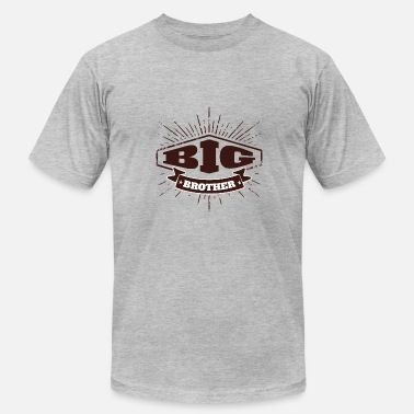 New Big Brother Big Brother Big Sister Big Brother Badge - Men's  Jersey T-Shirt