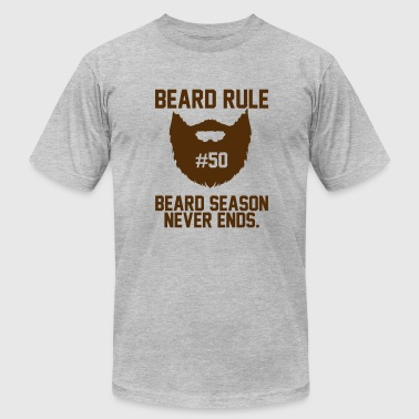 Beard Rules Beard Rules - Men's Fine Jersey T-Shirt
