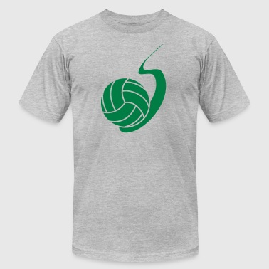 Highschool Volleyball - Men's Fine Jersey T-Shirt