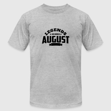 Legends Born August Legends Are Born in August | August Birthday - Men's Fine Jersey T-Shirt