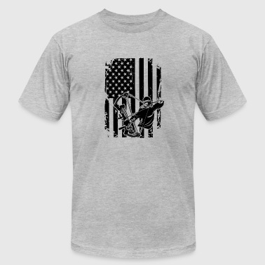 Bow Hunting Flag Bow Hunting Flag - Men's Fine Jersey T-Shirt