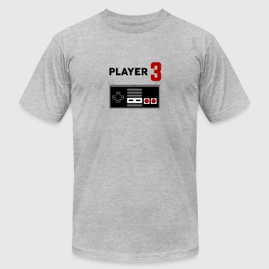 Matching Retro Player Video Game - Men's Fine Jersey T-Shirt