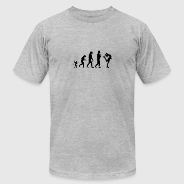 Evolution Of Ice Skating ice skating evolution, #ice skating - Men's Fine Jersey T-Shirt