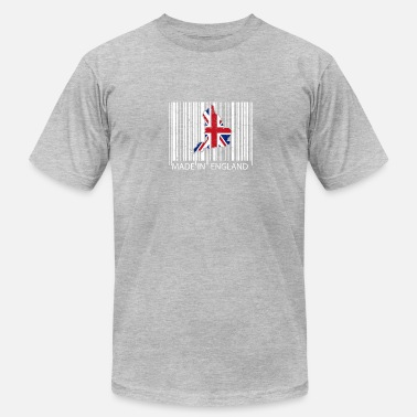 England Made in England Vintage Barcode Union Jack - Men's Jersey T-Shirt