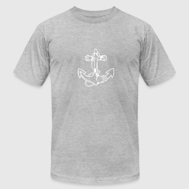 White Anchor White Anchor - Men's Fine Jersey T-Shirt