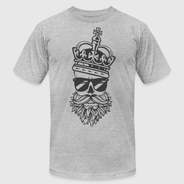 Beard King Dad - Men's Fine Jersey T-Shirt
