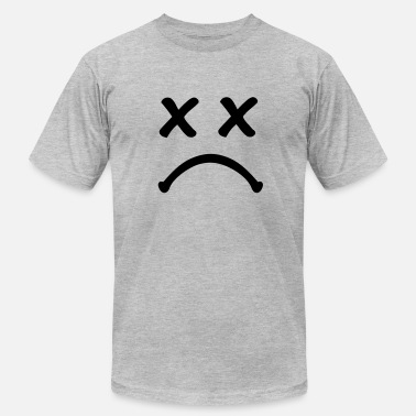 Sadness Smiley sad - Men's  Jersey T-Shirt