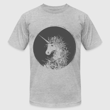Head of a unicorn - Men's Fine Jersey T-Shirt