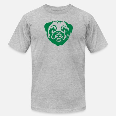 Pugs Geek pug - Men's  Jersey T-Shirt