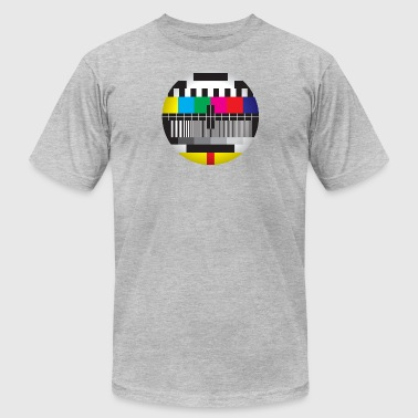Tv Test Card Television Test Card - Men's Fine Jersey T-Shirt