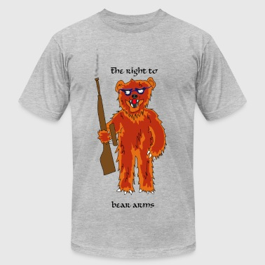 The right to bear arms - Men's Fine Jersey T-Shirt