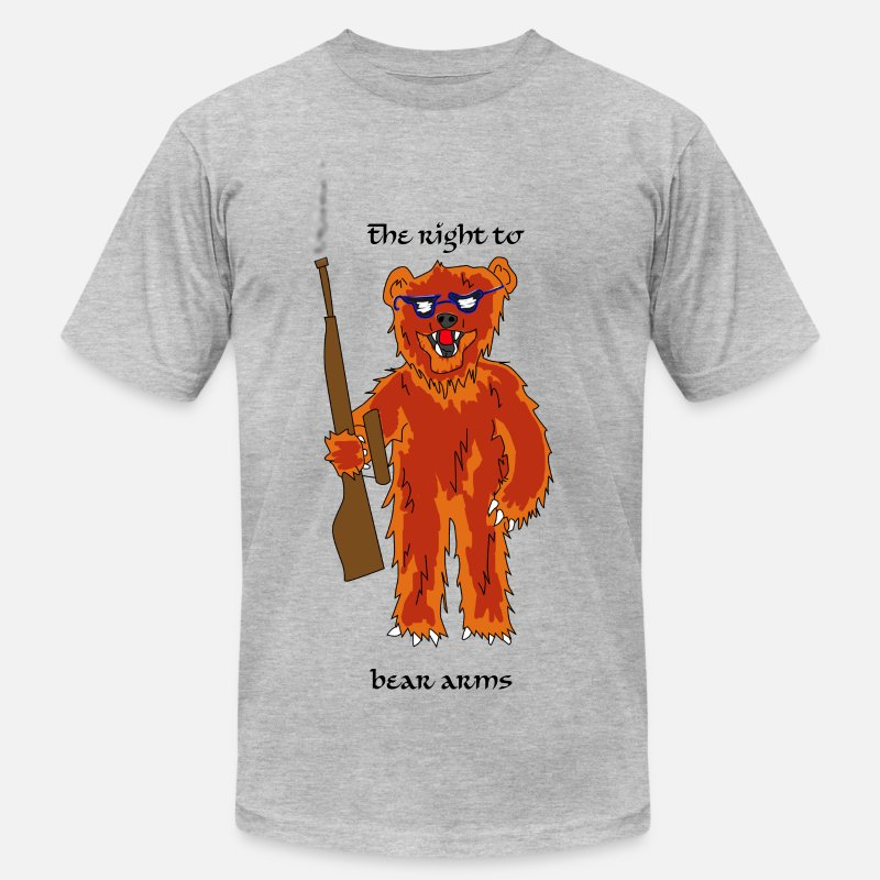 Rights T-Shirts - The right to bear arms - Men's Jersey T-Shirt heather gray