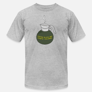 Frag Out Grenade Coffee Grenade - Men's Fine Jersey T-Shirt