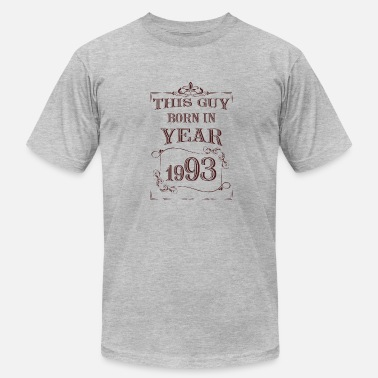 1993 Year this guy born in year 1993 - Men's Fine Jersey T-Shirt