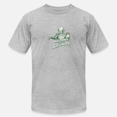 Calamari Mon Calamari From The Black Lagoon - Men's Fine Jersey T-Shirt