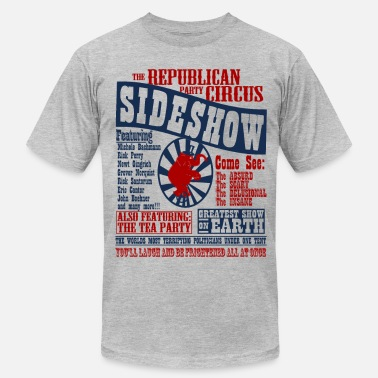 Vintage Presidential Election The Republican Sideshow - Men's Fine Jersey T-Shirt