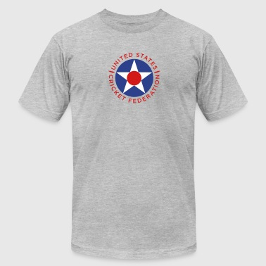Usa Cricket US Cricket Roundel 4 - Men's Fine Jersey T-Shirt