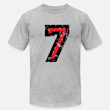 Number Back Number The Number Seven - No. 7 (two-color) red - Men's  Jersey T-Shirt