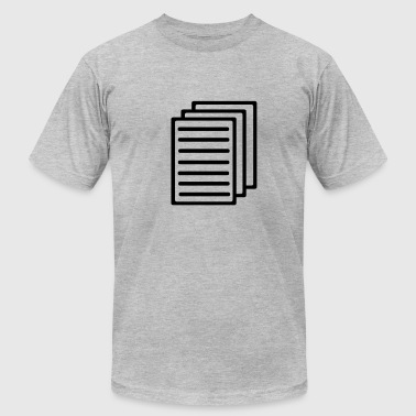 Papers - Men's Fine Jersey T-Shirt