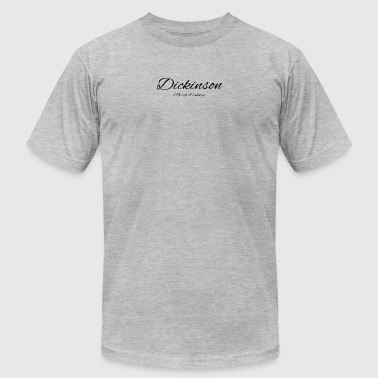 North Dakota Dickinson US DESIGN EDITION - Men's Fine Jersey T-Shirt
