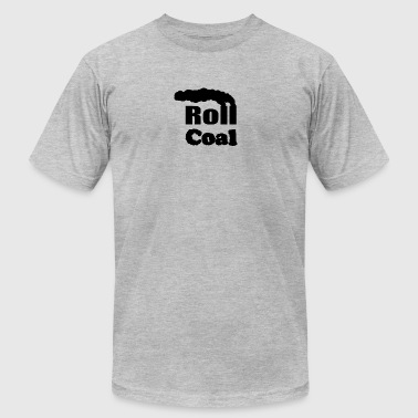 Rolling Coal Roll Coal - FiringOrder - Men's Fine Jersey T-Shirt