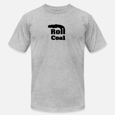 Roll Coal Roll Coal - FiringOrder - Men's Fine Jersey T-Shirt