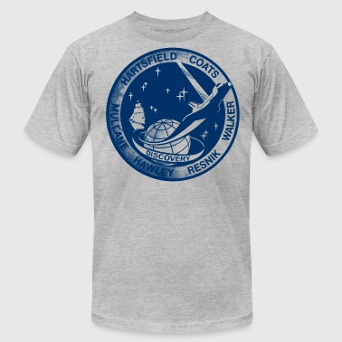 Vintage NASA Discovery t shirt  - Men's Fine Jersey T-Shirt