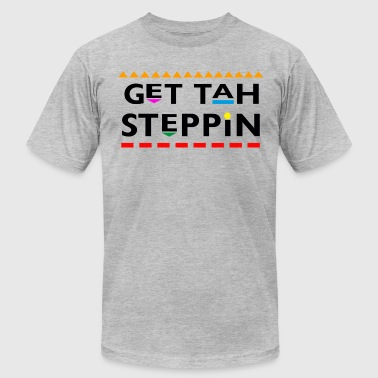 Martin Tv Get Tah Steppin - Men's Fine Jersey T-Shirt