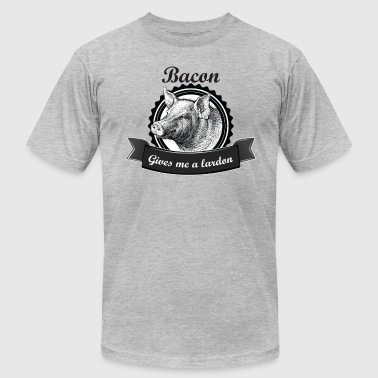 Bacon Gives me a Lardon - Men's Fine Jersey T-Shirt