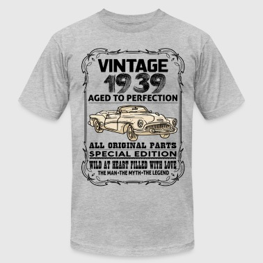 VINTAGE 1939-AGED TO PERFECTION - Men's Fine Jersey T-Shirt