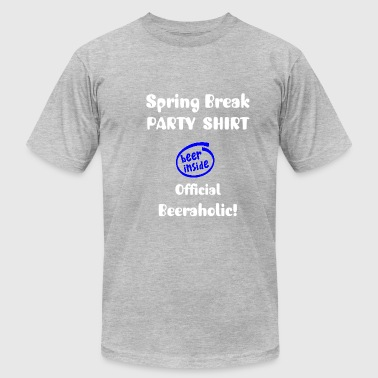 SPRING BREAK PARTY SHIRT - Men's Fine Jersey T-Shirt