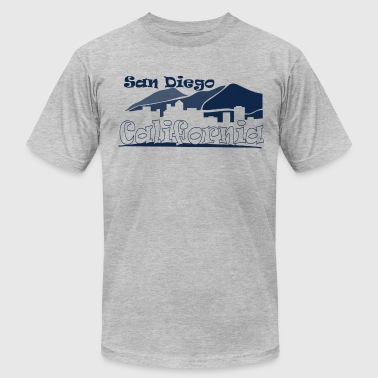 San Diego California - Men's Fine Jersey T-Shirt
