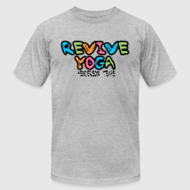 revive logo white v5d - Men's Fine Jersey T-Shirt