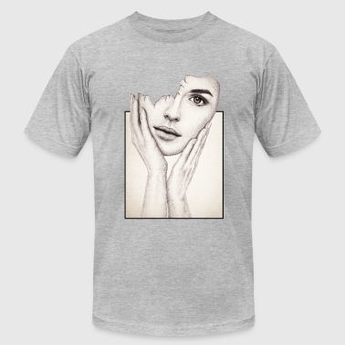 Broken Girl - Men's T-Shirt by American Apparel